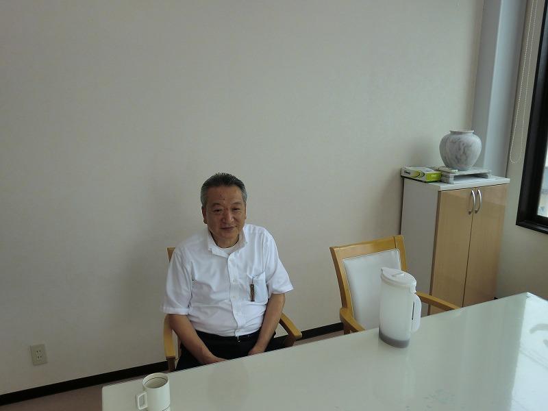 「あおぞらの会」理事の佐藤さん